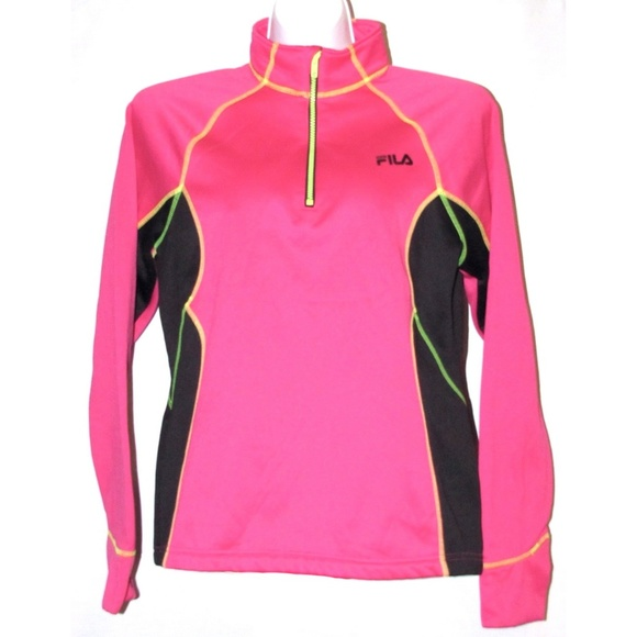 b5976934 FILA Sport Performance Running 1/4 Zip Pullover